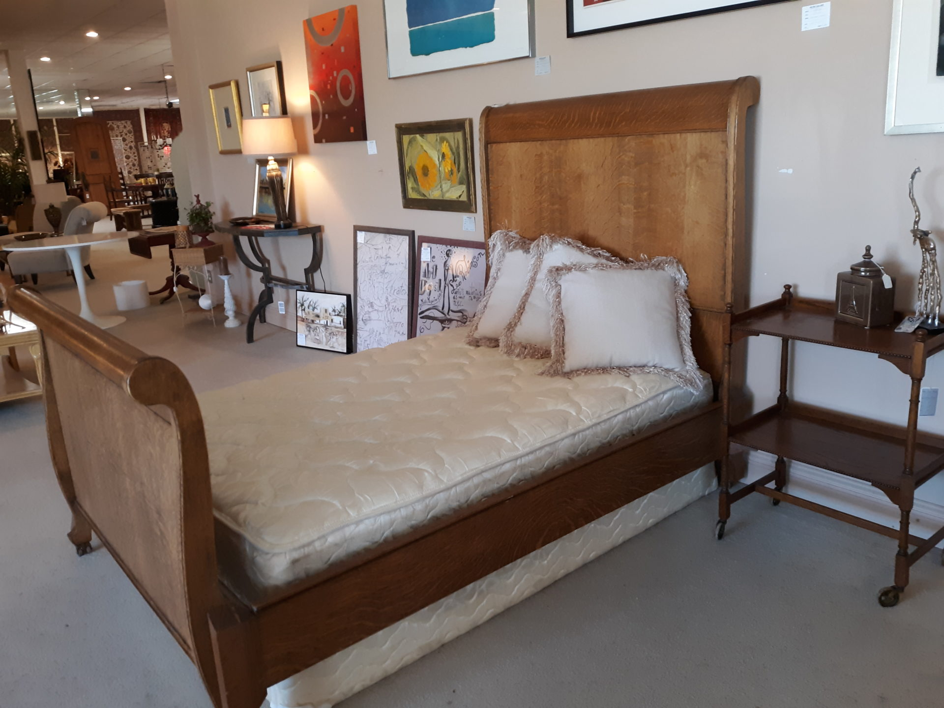- Antique Sleigh Bed Out Of The Box