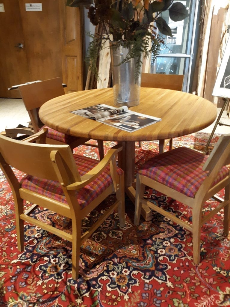Vintage Dining Room Chairs Out Of The Box
