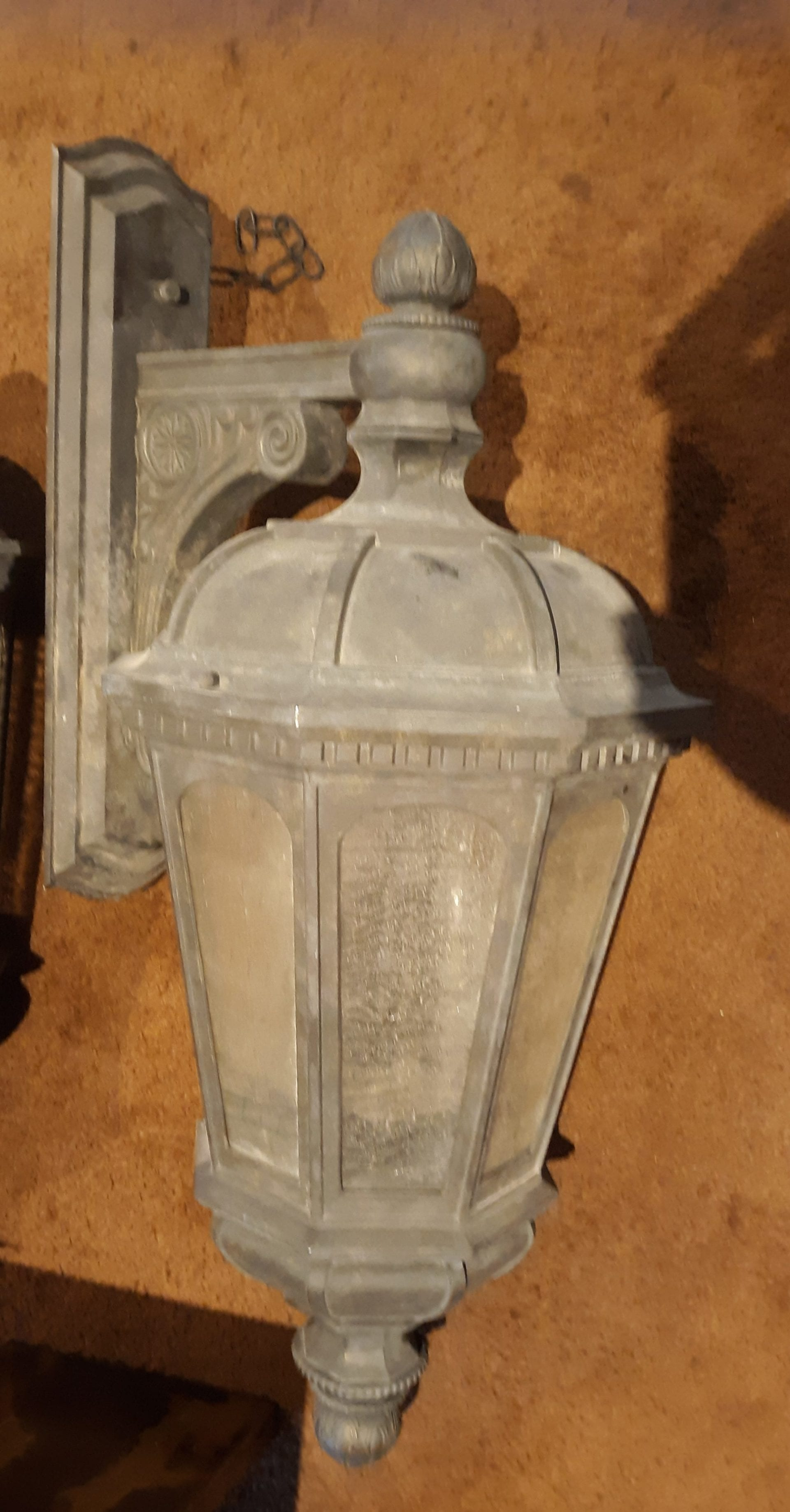 Large Exterior Wall Sconces Out Of The Box
