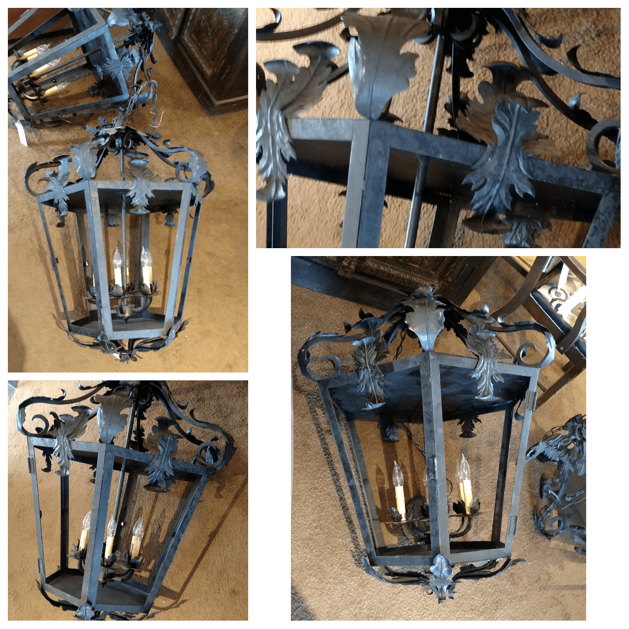 Reclaimed exterior lights