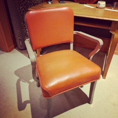 Vintage Steelcase Tanker Chair
