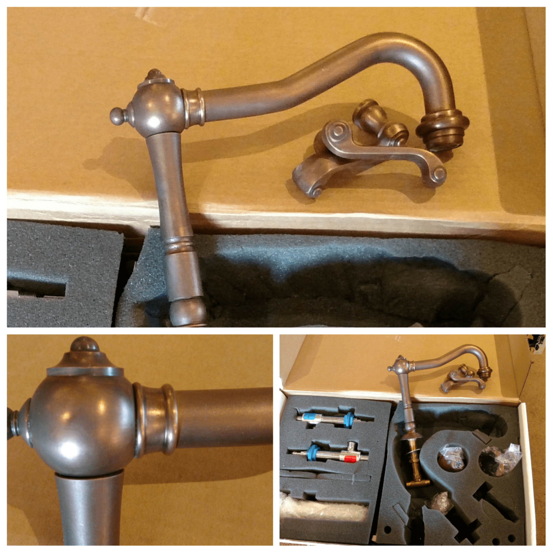 reclaimed faucet