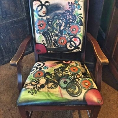 Recycled Vintage Chair