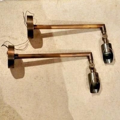 bronze low voltage sconce