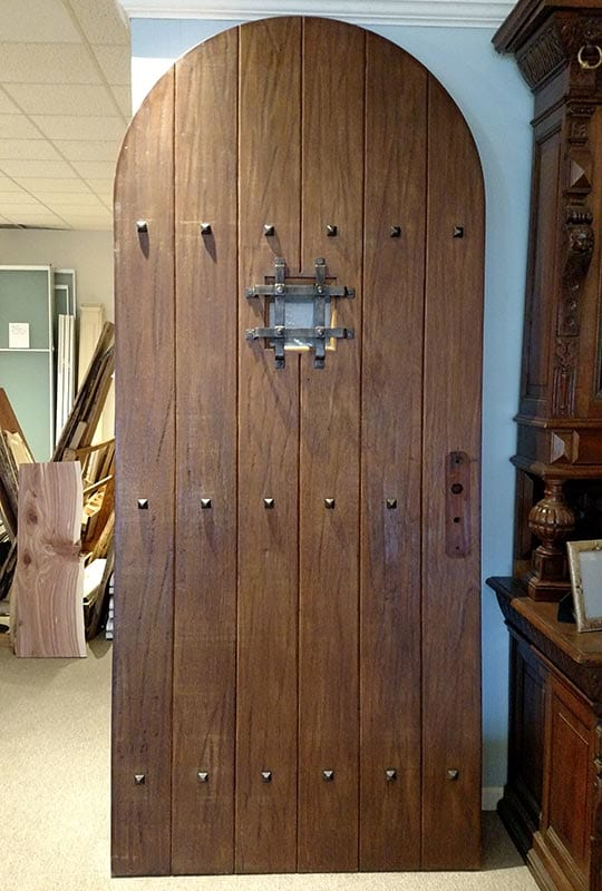 Castle Arched Exterior Door Out Of The Box