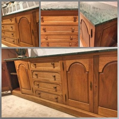 recycled cabinetry