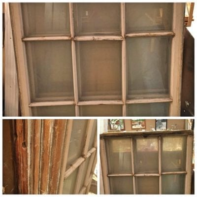 recycled vintage windows